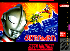 Ultraman - Towards the Future Nintendo Super NES cover artwork