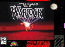 Warlock Nintendo Super NES cover artwork