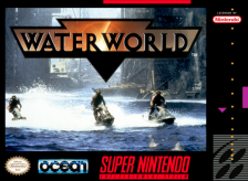 Waterworld Nintendo Super NES cover artwork