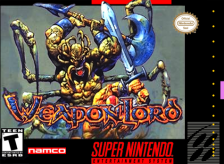 Weapon Lord Nintendo Super NES cover artwork