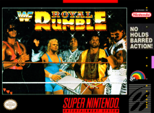 WWF Royal Rumble Nintendo Super NES cover artwork