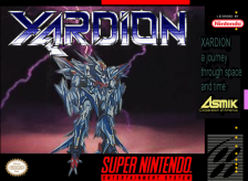 Xardion Nintendo Super NES cover artwork