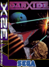 Darxide Sega 32X cover artwork