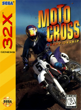 Motocross Championship Sega 32X cover artwork