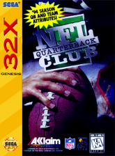 NFL Quarterback Club Sega 32X cover artwork
