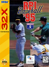 RBI Baseball '95 Sega 32X cover artwork