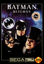 Batman Returns Sega CD cover artwork