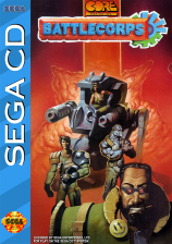 Battlecorps Sega CD cover artwork