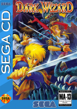 Dark Wizard Sega CD cover artwork