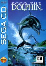 Ecco the Dolphin Sega CD cover artwork
