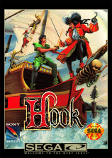 Hook Sega CD cover artwork