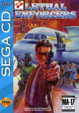 Lethal Enforcers Sega CD cover artwork