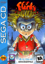 Misadventures of Flink, The Sega CD cover artwork