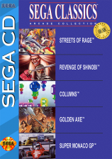 Sega Classics - 5-in-1 Sega CD cover artwork