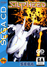 Silpheed Sega CD cover artwork