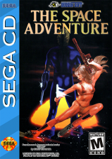 Space Adventure, The - Cobra the Legendary Bandit Sega CD cover artwork