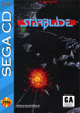 Star Blade Sega CD cover artwork