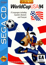 World Cup USA 94 Sega CD cover artwork