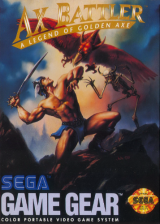 Ax Battler - A Legend of Golden Axe Sega Game Gear cover artwork