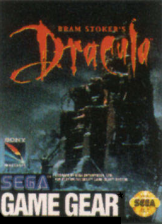 Bram Stoker's Dracula Sega Game Gear cover artwork