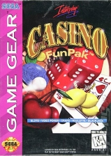 Casino Funpak Sega Game Gear cover artwork