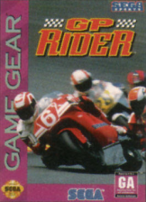 GP Rider Sega Game Gear cover artwork