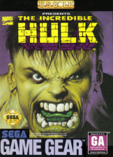 Incredible Hulk, The Sega Game Gear cover artwork