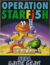 James Pond 3 - Operation Starfi5h Sega Game Gear cover artwork