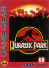 Jurassic Park Sega Game Gear cover artwork