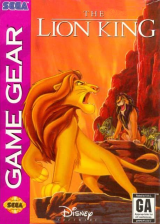 Lion King, The Sega Game Gear cover artwork