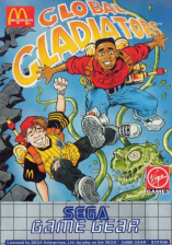 Mick & Mack as the Global Gladiators Sega Game Gear cover artwork