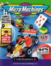 Micro Machines Sega Game Gear cover artwork