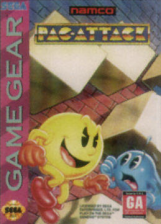Pac-Attack Sega Game Gear cover artwork