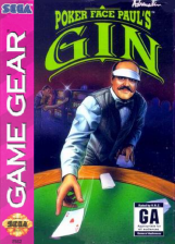 Poker Faced Paul's Gin Sega Game Gear cover artwork