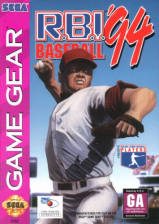 R.B.I. Baseball '94 Sega Game Gear cover artwork
