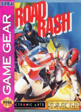 Road Rash Sega Game Gear cover artwork