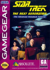 Star Trek - The Next Generation - The Advanced Holodeck Tutorial Sega Game Gear cover artwork