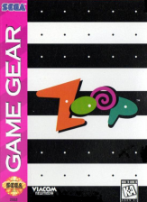 Zoop Sega Game Gear cover artwork