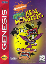 AAAHH!!! Real Monsters Sega Genesis cover artwork