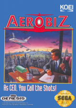 Aerobiz Sega Genesis cover artwork