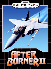 After Burner II Sega Genesis cover artwork