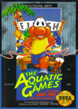 Aquatic Games Starring James Pond and the Aquabats, The Sega Genesis cover artwork