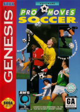 AWS Pro Moves Soccer Sega Genesis cover artwork