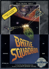 Battle Squadron Sega Genesis cover artwork