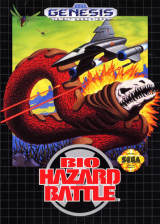Bio Hazard Battle Sega Genesis cover artwork
