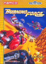 Burning Force Sega Genesis cover artwork