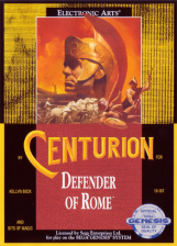 Centurion - Defender of Rome Sega Genesis cover artwork