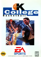Coach K College Basketball Sega Genesis cover artwork