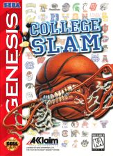 College Slam Sega Genesis cover artwork
