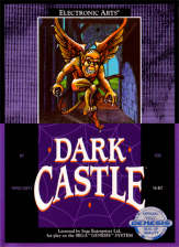 Dark Castle Sega Genesis cover artwork